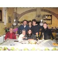 Familie, Toskana, Italien 2